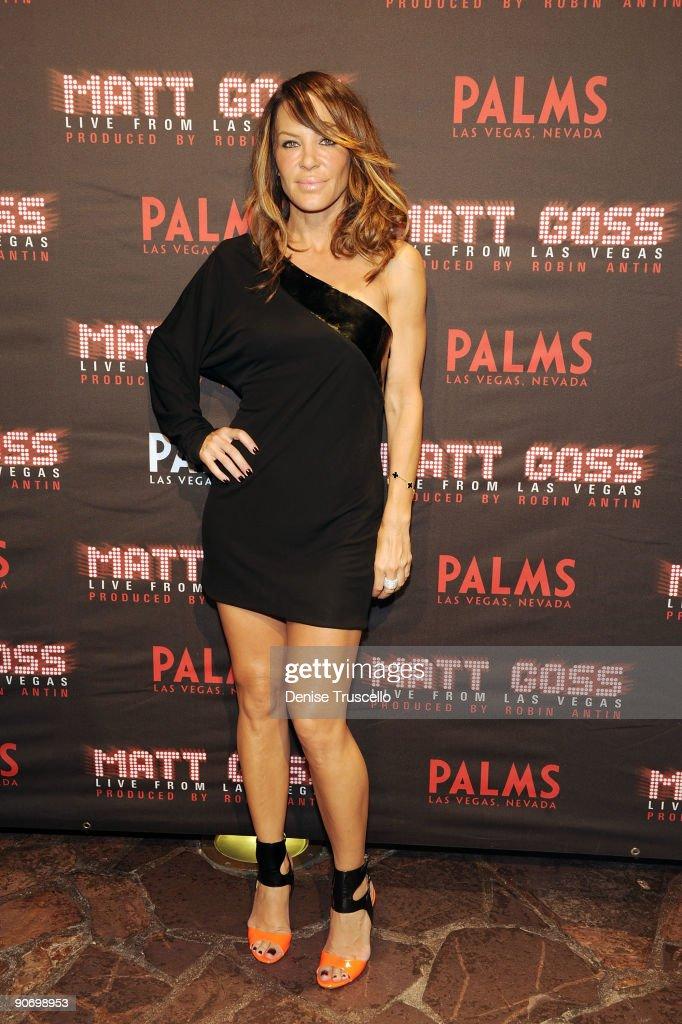 "Grand Opening Of ""Matt Goss Live From Las Vegas"" At Palms Casino Resort"