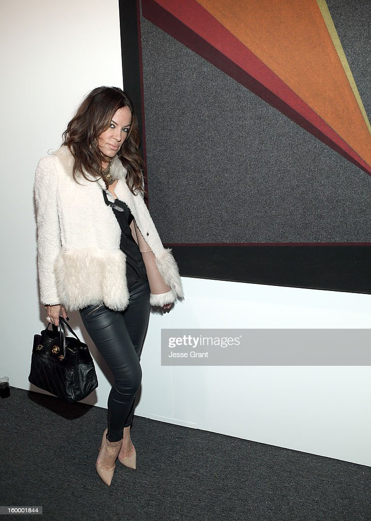 Robin Antin attends Art Los Angeles Contemporary opening night at Barker Hangar on January 24, 2013 in Santa Monica, California.