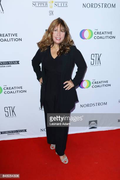 Robin Bronk attends the 2017 Creative Coalition Spotlight Initiative Gala Awards Dinner at STK Toronto on September 9 2017 in Toronto Canada