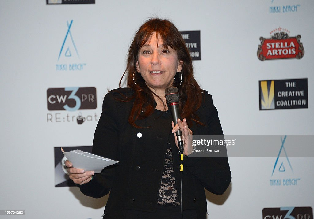 Robin Bronk attends the Creative Coalition's Sundance Film Festival: Passion...A Dinner Of Indie Chic at The Sky Lodge on January 18, 2013 in Park City, Utah.