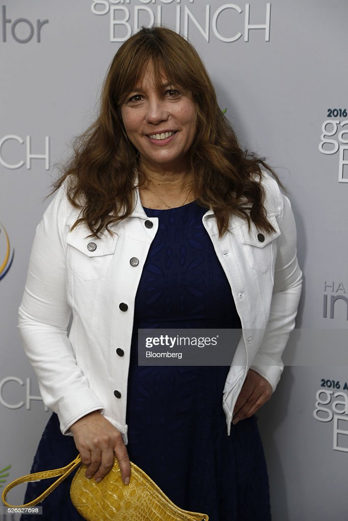 Robin Bronk, chief executive officer of The Creative Coalition, attends the 23rd Annual White House Correspondents' Garden Brunch in Washington, D.C., U.S., on Saturday, April 30, 2016. The event will raise awareness for Halcyon Incubator, an organization that supports early stage social entrepreneurs 'seeking to change the world' through an immersive 18-month fellowship program. Photographer: Andrew Harrer/Bloomberg via Getty Images