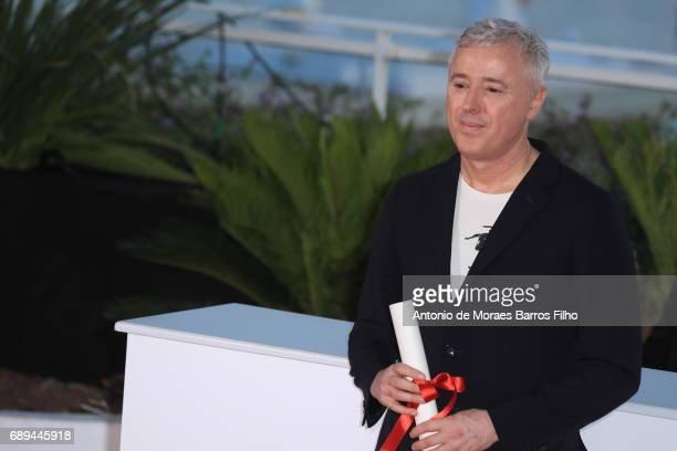 Robin Campillo attends the winners photocall during the 70th annual Cannes Film Festival at Palais des Festivals on May 28 2017 in Cannes France