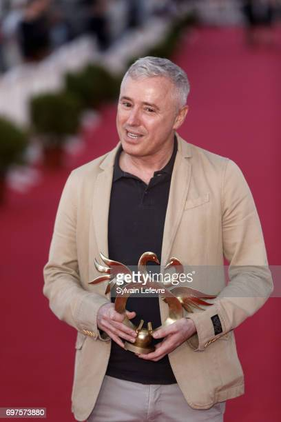 Robin Campillo attends the Winners' Red Carpet after the closing ceremony of 31st Cabourg Film Festival on June 17 2017 in Cabourg France