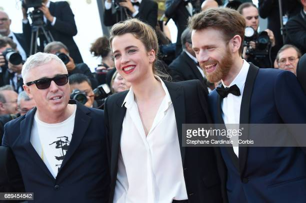 Robin CampilloAdele Haenel and Antoine Reinartz attend the Closing Ceremony during the 70th annual Cannes Film Festival at Palais des Festivals on...