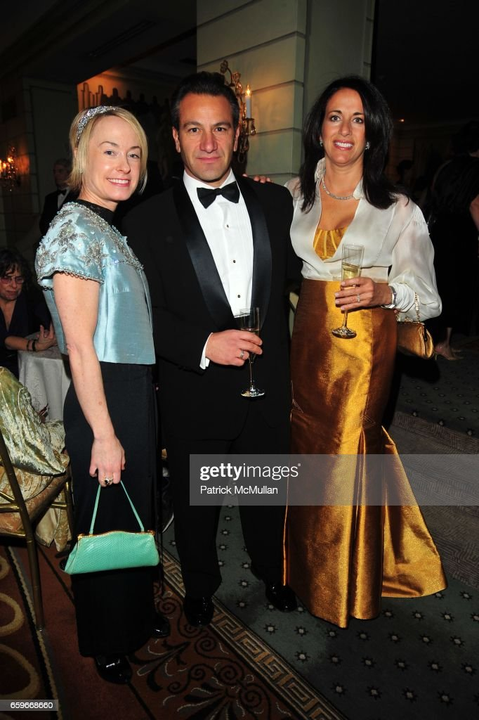 Robin Cofer, Roys Poyiadjis and Donna Poyiadjis attend WOMEN'S PROJECT Gala at Pierre Hotel on March 2, 2009 in New York.