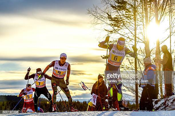 Robin Duvillard of France competes during the FIS Nordic World Cup Men's and Women's Cross Country Relay on December 06 2015 in Lillehammer Norway