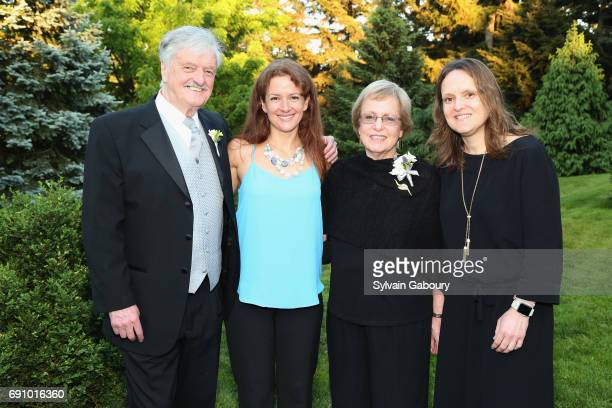 Robin Elliott Caroline GordonElliott Sheila GordonElliott and Dr Janna GordonElliott attend The 60th Anniversary Gala to benefit Parkinson's...