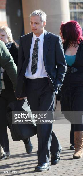 S NAME Robin Garbutt arrives at Teeside Crown Court Middlesbrough for the start of his trial where he is accused of murdering his postmistress wife...