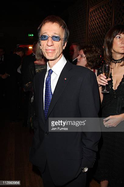 Robin Gibb attends the The Archant London Press Ball on November 17 2007 in London