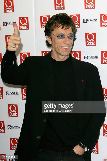 Robin Gibb during 2005 Q Awards at Grosvenor House Hotel Park Lane in London Great Britain