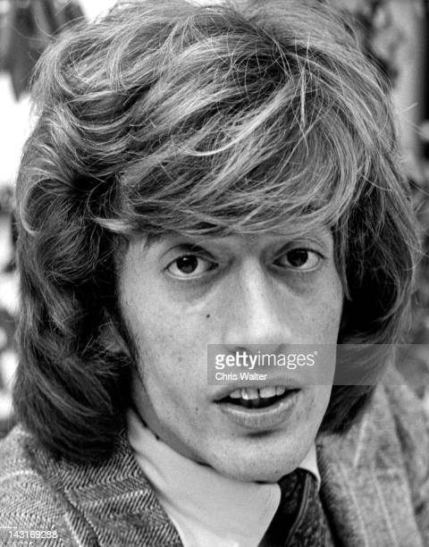 Robin Gibb of the Bee Gees appears in the 1970s