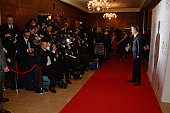 Robin Gutch attends The London Critics' Circle Film Awards at The Mayfair Hotel on January 18 2015 in London England
