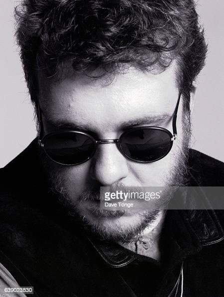 Robin Guthrie of Scottish alternative rock group Cocteau Twins Clapham Junction London United Kingdom 1993