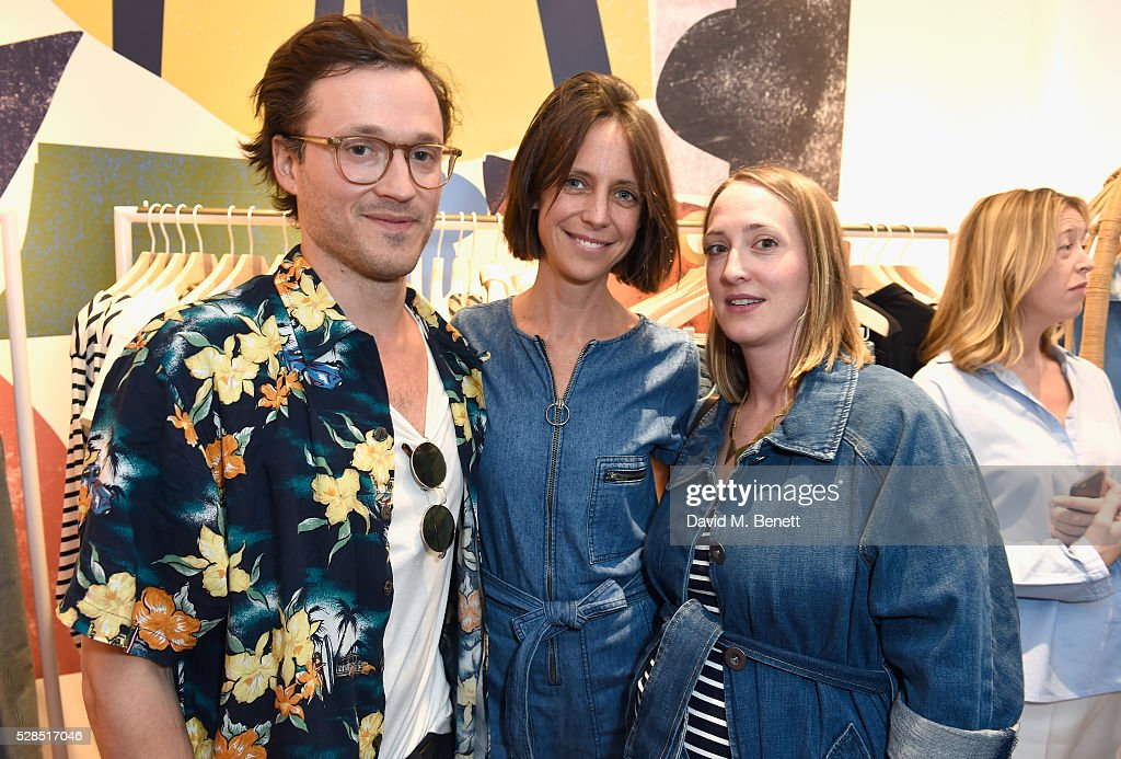 Robin Katz Chloe Lonsdale and Poppy de Villeneuve attend Mih Jeans' 10th Anniversary Celebration at their popup concept store on Upper James Street...