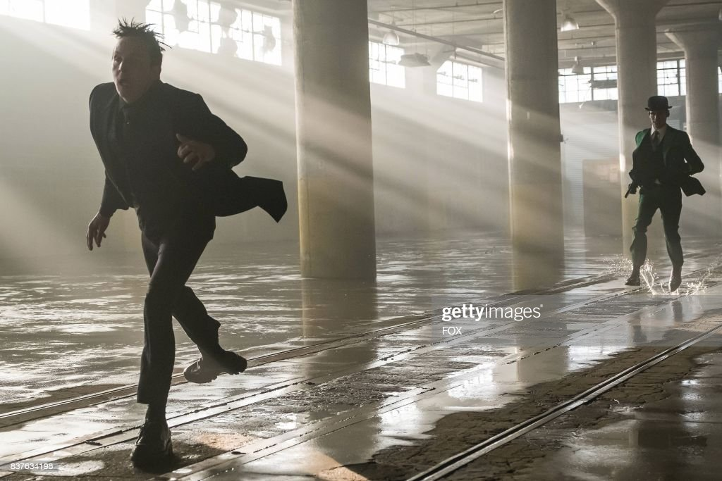 Robin Lord Taylor and Cory Michael Smith and Benedict Samuel in the second half of the special two-hour season finale episode of GOTHAM, Heroes Rise: Heavydirtysoul, airing Monday, May 29 (9:00-10:00 PM ET/PT) on FOX.