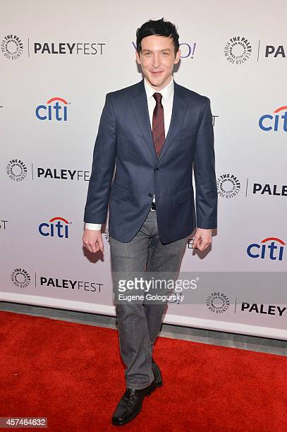 Robin Lord Taylor attends the GOTHAM Panel At PaleyFest NY on October 18 2014 in New York City