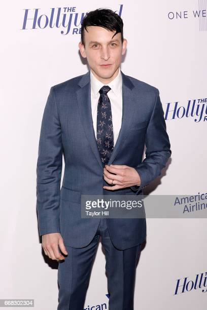 Robin Lord Taylor attends 'The Hollywood Reporter's 35 Most Powerful People In Media 2017' at The Pool on April 13 2017 in New York City