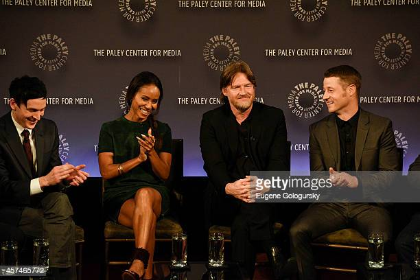 Robin Lord Taylor Jada Pinkett Smith Donal Logue Ben McKenzie attend the GOTHAM Panel At PaleyFest NY on October 18 2014 in New York City