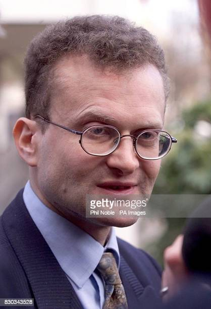 Robin Makin solicitor for Moors Murderer Ian Brady speaking to the press outside Liverpool Crown Court where his client is making his first court...