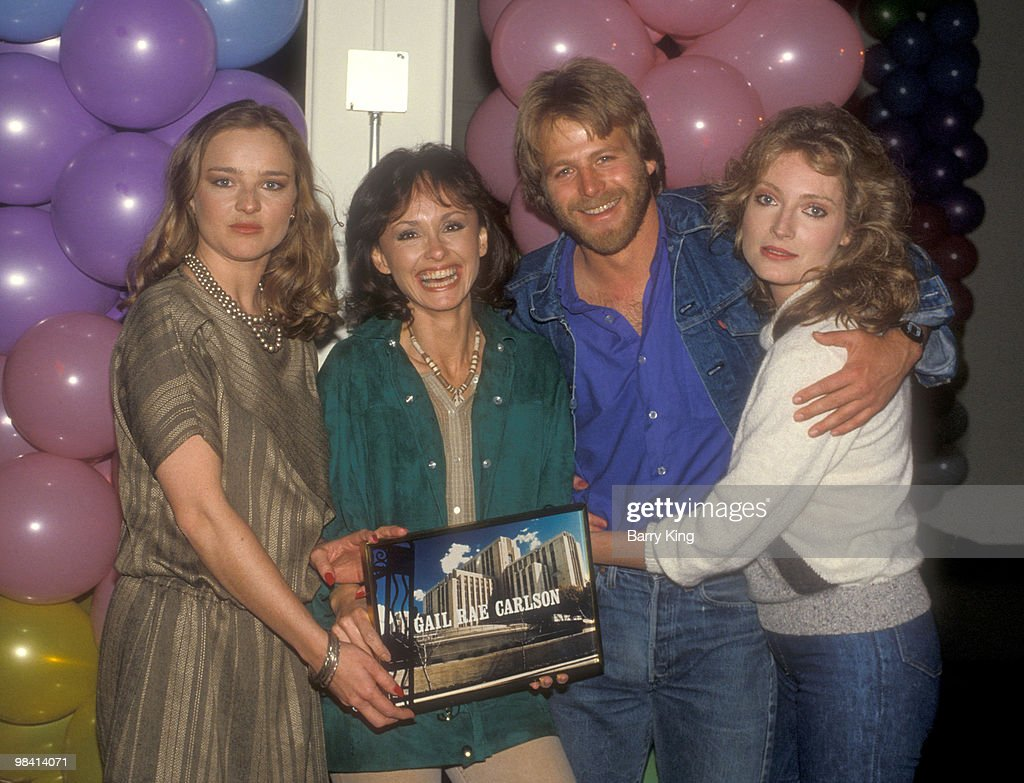 general hospital party photos and images getty images robin mattson gail rae carlson kin shriner and sharon wyatt