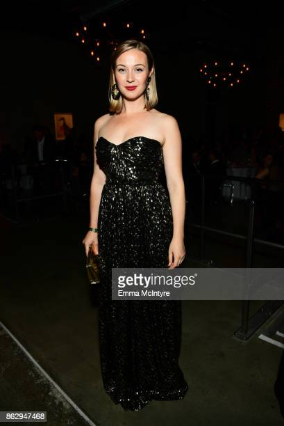 Robin McLeavy attends the 6th Annual Australians in Film Award Benefit Dinner at NeueHouse Hollywood on October 18 2017 in Los Angeles California