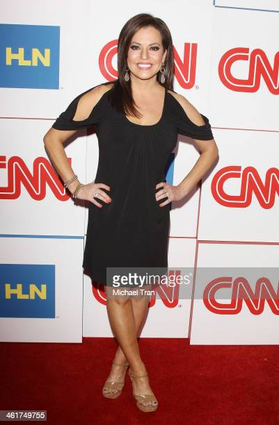 Robin Meade arrives at the CNN Worldwide AllStar 2014 Winter TCA party held at Langham Huntington Hotel on January 10 2014 in Pasadena California