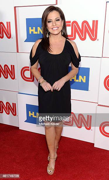 Robin Meade attends the CNN Worldwide AllStar Party At TCA at Langham Hotel on January 10 2014 in Pasadena California