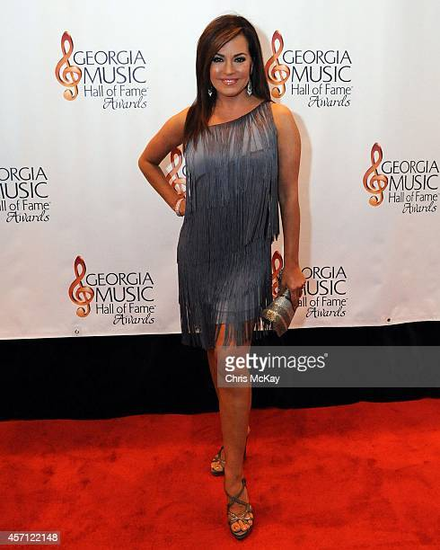 Robin Meade of HLN attends the 36th annual Georgia Music Hall of Fame Awards at the Georgia World Congress Center on October 11 2014 in Atlanta...
