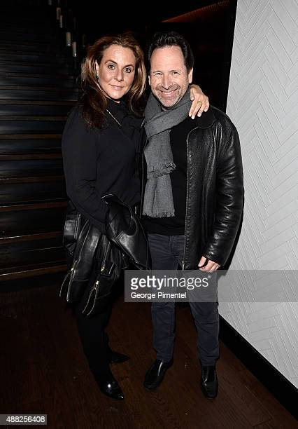 Robin Mirsky and Barry Avrich at the Vanity Fair toast of 'Freeheld' at TIFF 2015 presented by Hugo Boss and supported by JaegerLeCoultre at...