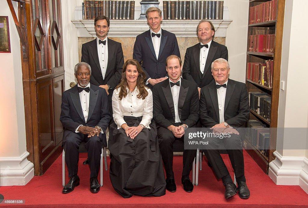 Duke Of Cambridge Presents The Chatham House Prize 2014 ... Melinda Gates House