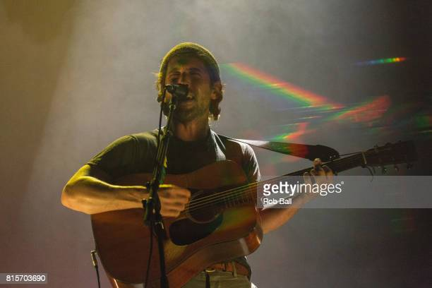 Robin Pecknold from Fleet Foxes performs at Latitude Festival at Henham Park Estate on July 16 2017 in Southwold England