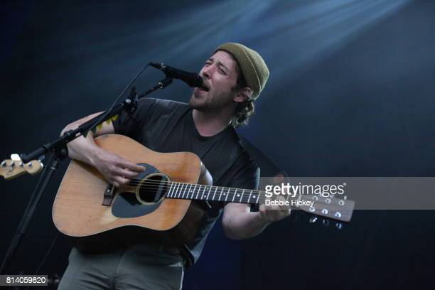 Robin Pecknold of Fleet Foxes performing live on stage at Iveagh Gardens on July 13 2017 in Dublin Ireland