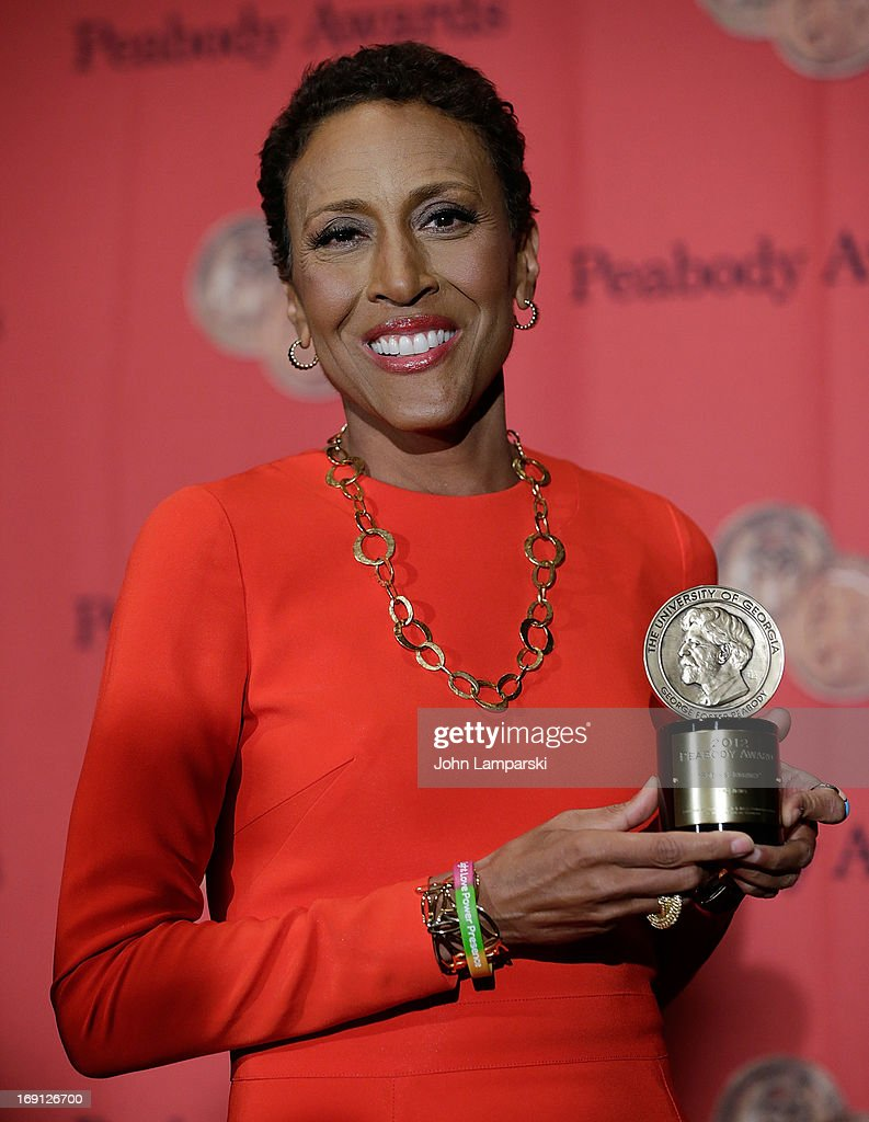 Robin Roberts attends 72nd Annual George Foster Peabody Awards at The Waldorf=Astoria on May 20, 2013 in New York City.