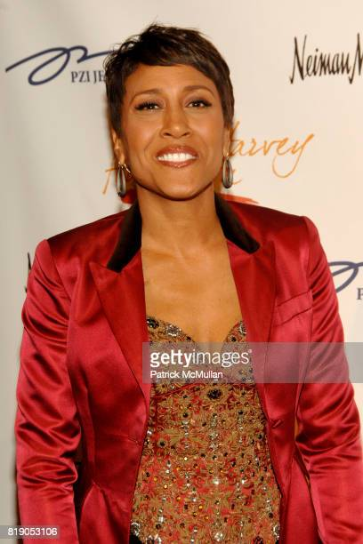 Robin Roberts attends The 1st Annual STEVE HARVEY FOUNDATION Gala at Cipriani Wall Street on May 3 2010 in New York City