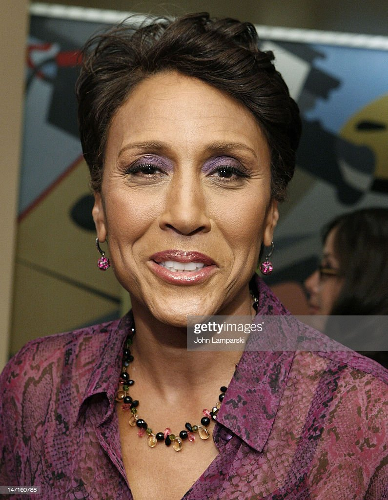 Robin Roberts attends the ABC News Bone Marrow Drive at ABC Studios on June 26, 2012 in New York City.