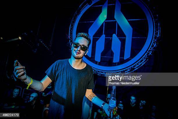 DJ Robin Schulz performs at Mayday 2015 music festival at Spodek on November 8 2015 in Katowice Poland