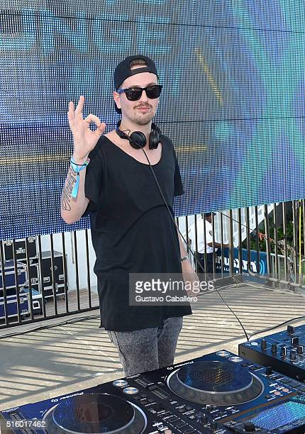 Robin Schulz performs at SiriusXM Celebrates 10th Anniversary Of The SiriusXM Music Lounge At 1 Hotel South Beach Leading Up To Ultra Music Festival...