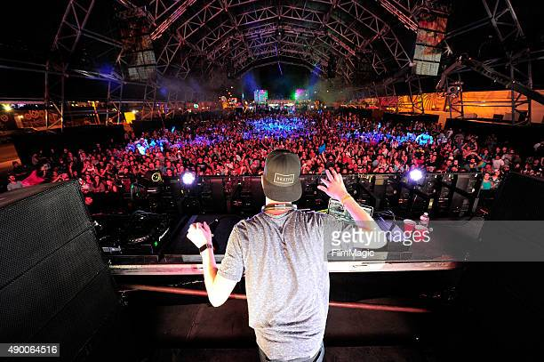 Robin Schulz performs onstage during day 1 of the 2015 Life is Beautiful festival on September 25 2015 in Las Vegas Nevada
