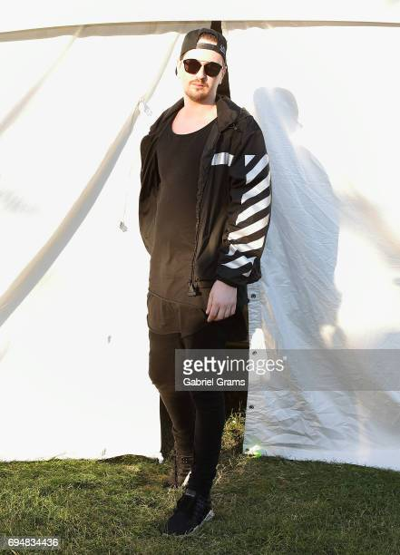 Robin Schulz poses at Spring Awakening Music Festival at Addams/Medill Park on June 10 2017 in Chicago Illinois