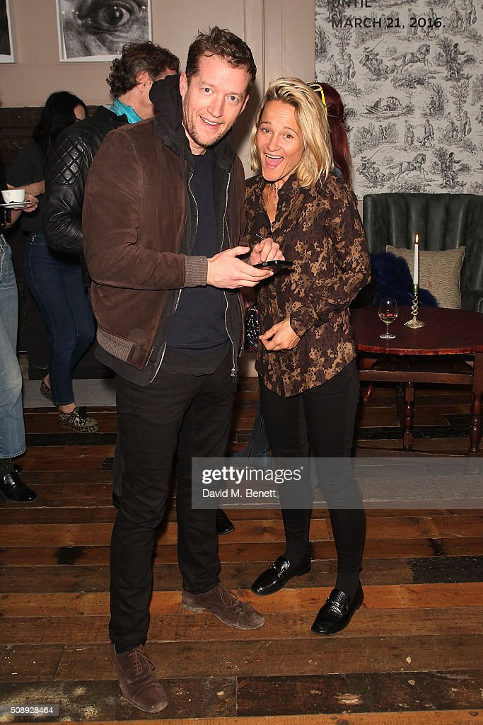 Robin Scott Lawson and Tara Agace attends a special screening of 'The Uncountable Laughter of The Sea' at Soho House Dean Street on February 7, 2016 in London, England.