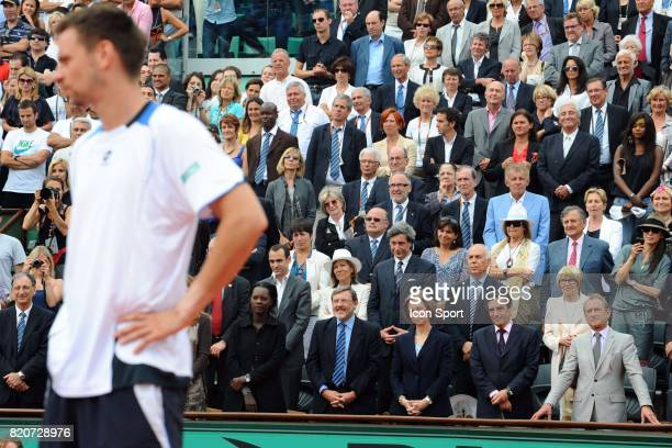 Robin SODERLING / Rama YADE / Reine d'Espagne / Francois FILLON / Bertrand DELANOE Finale Simple Messieurs Roland Garros 2010