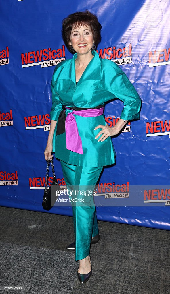 Robin Strasser attending the Opening Night Performance of Perez Hilton in 'NEWSical The Musical' at the Kirk Theatre in New York City on September 17...