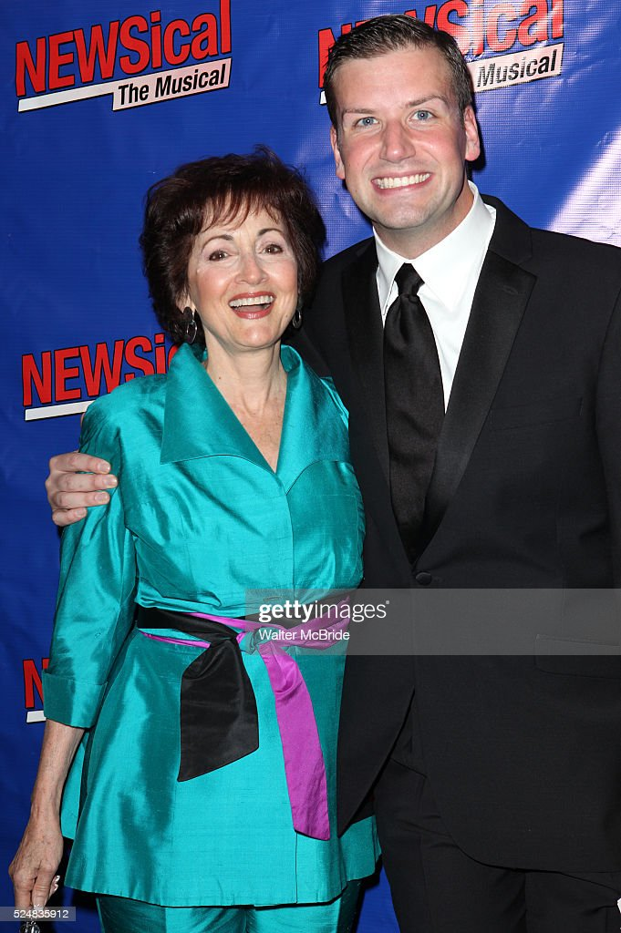Robin Strasser Tom D'Angora attending the Opening Night Performance of Perez Hilton in 'NEWSical The Musical' at the Kirk Theatre in New York City on...