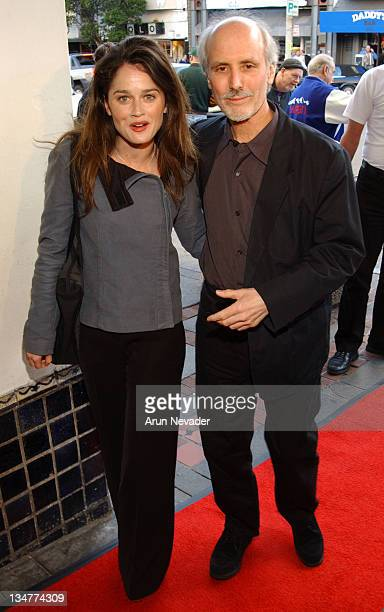 Robin Tunney and Alan Rudolph during 46th Annual San Francisco International Film Festival Opening Night Screening of at Castro Theater in San...