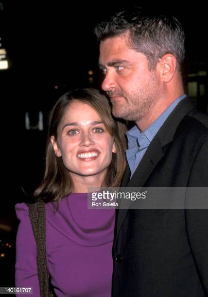 Robin Tunney and Bob Gosse at the Cancer Fundraiser Hosted By Liz Cohen Opia New York City