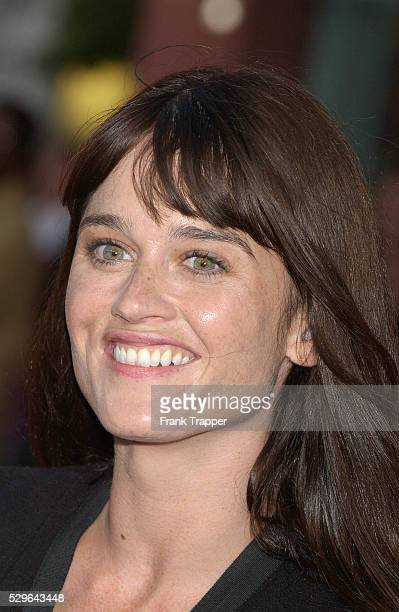 Robin Tunney arrives at the premiere of 'The Chronicles of Riddick'