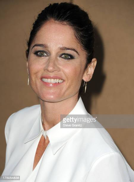 Robin Tunney arrives at the Television Critic Association's Summer Press Tour CBS/CW/Showtime Party at 9900 Wilshire Blvd on July 29 2013 in Beverly...