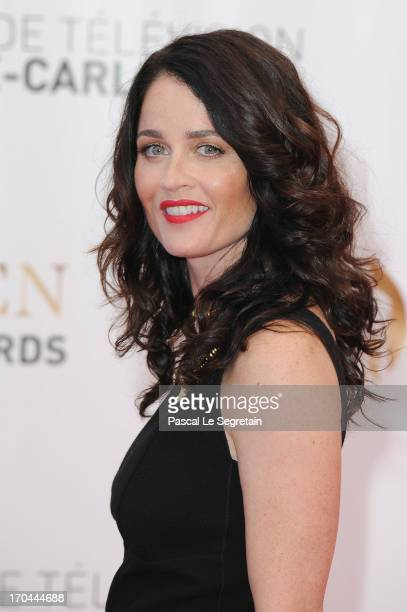 Robin Tunney attends the closing ceremony of the 53rd Monte Carlo TV Festival on June 13 2013 in MonteCarlo Monaco