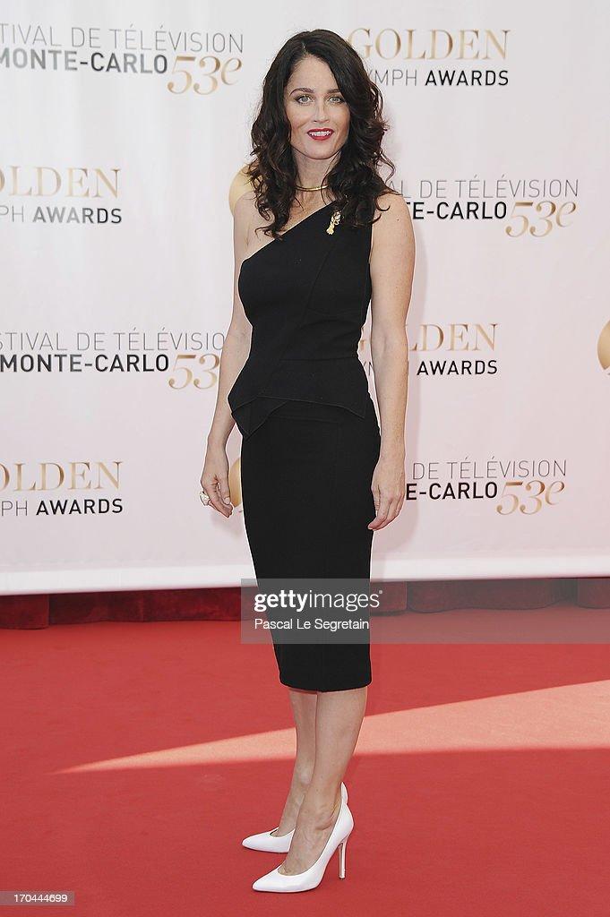 Robin Tunney attends the closing ceremony of the 53rd Monte Carlo TV Festival on June 13, 2013 in Monte-Carlo, Monaco.