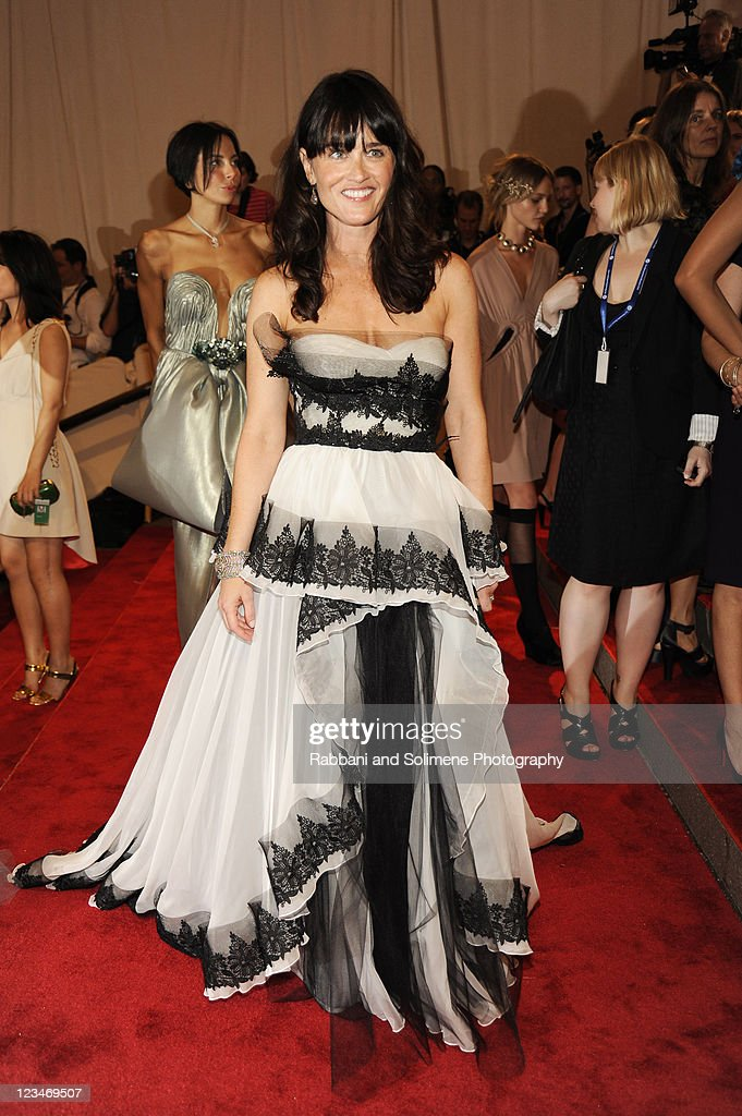 Robin Tunney attends the Costume Institute Gala Benefit to celebrate the opening of the 'American Woman: Fashioning a National Identity' exhibition at The Metropolitan Museum of Art on May 8, 2010 in New York City.